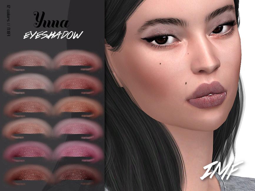 Тени IMF Yuna Eyeshadow N187 Симс 4