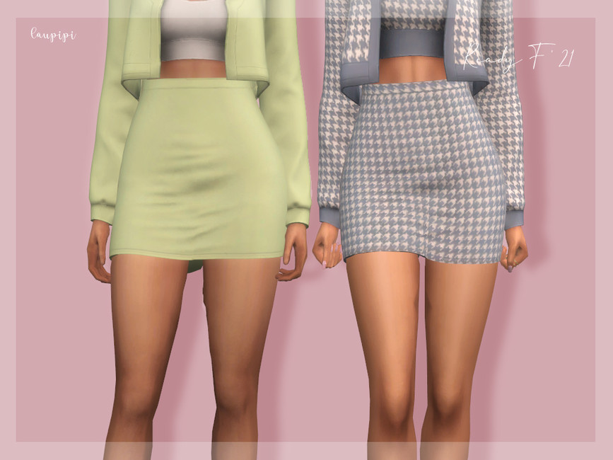 Юбки Skirt - BT403 Симс 4