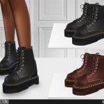 Женские ботинки Симс 4