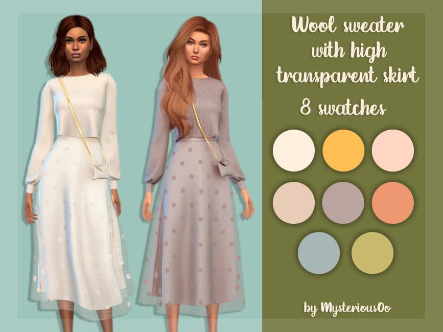 Женские наборы одежды для Симс 4