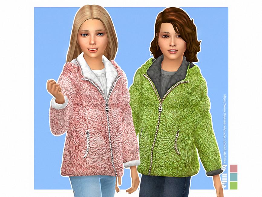Зимняя куртка Симс 4