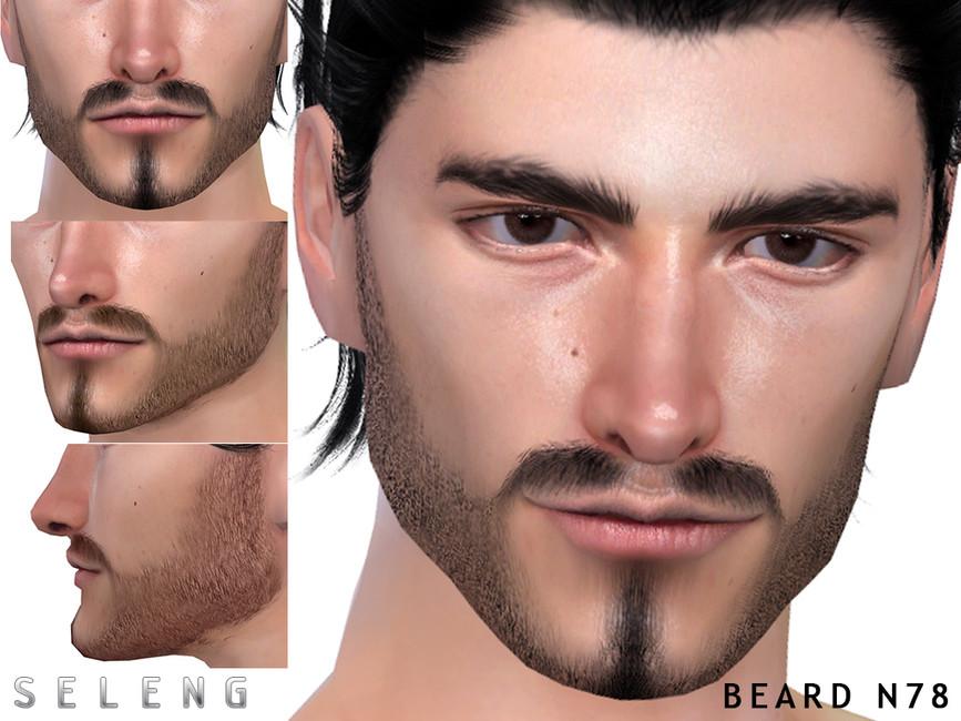 Борода Beard N78 Симс 4