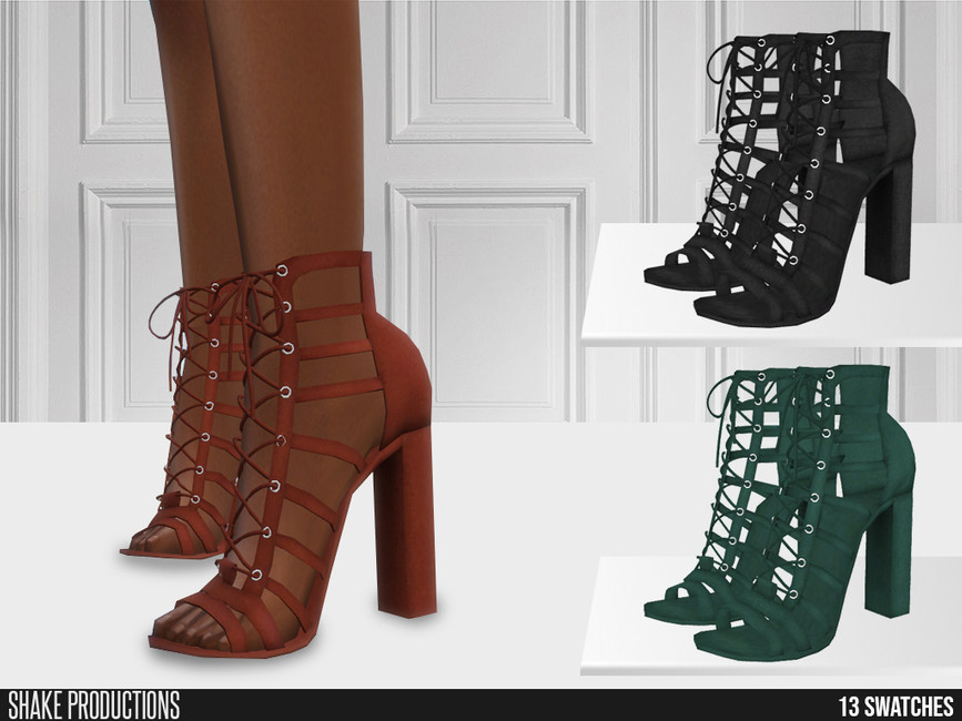 Босоножки 654 - High Heels Симс 4