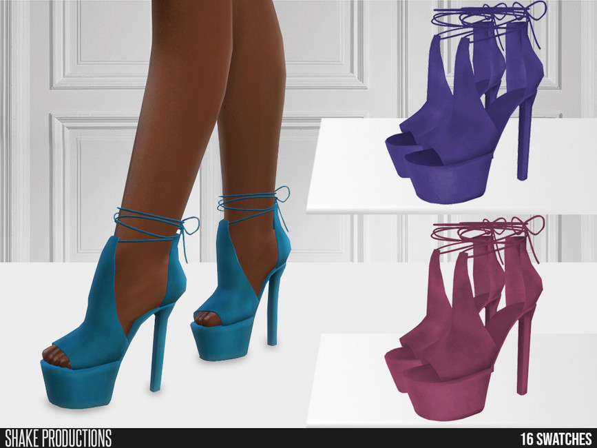 Босоножки 656 - High Heels Симс 4