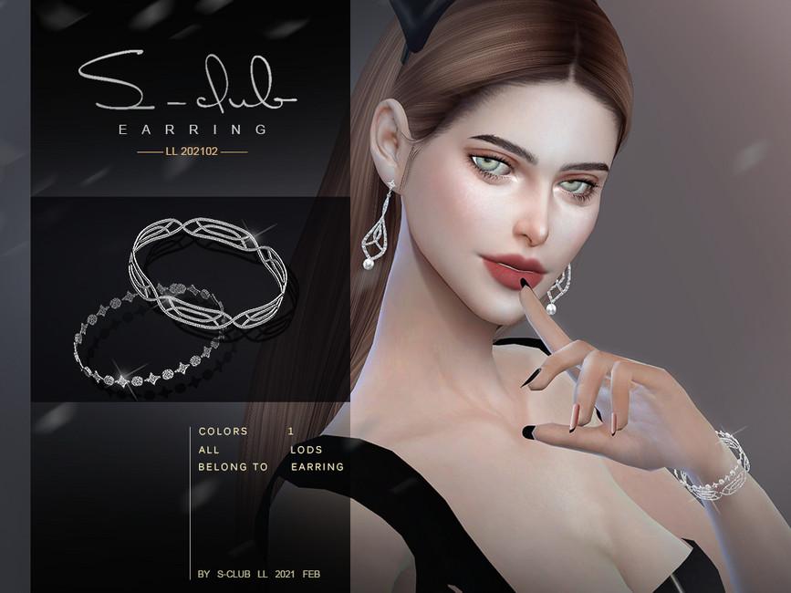 Браслет LL ts4 bracelet 2021012 Симс 4