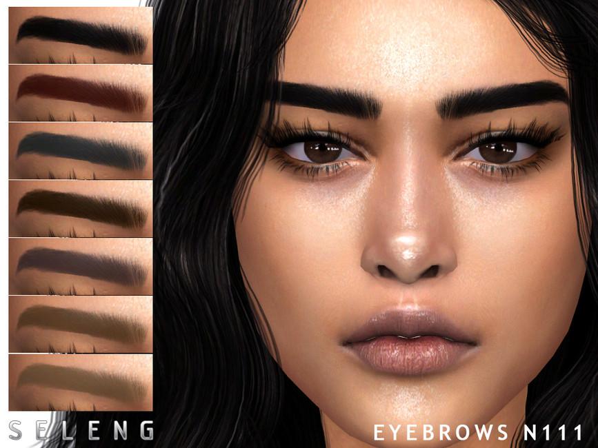 Брови Eyebrows N111 Симс 4