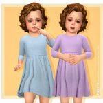 Детское платье Malena Dress Симс 4