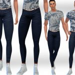 Дополнения джинсы для Симс 4