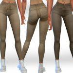Джинсы Female Camel Jeans Симс 4