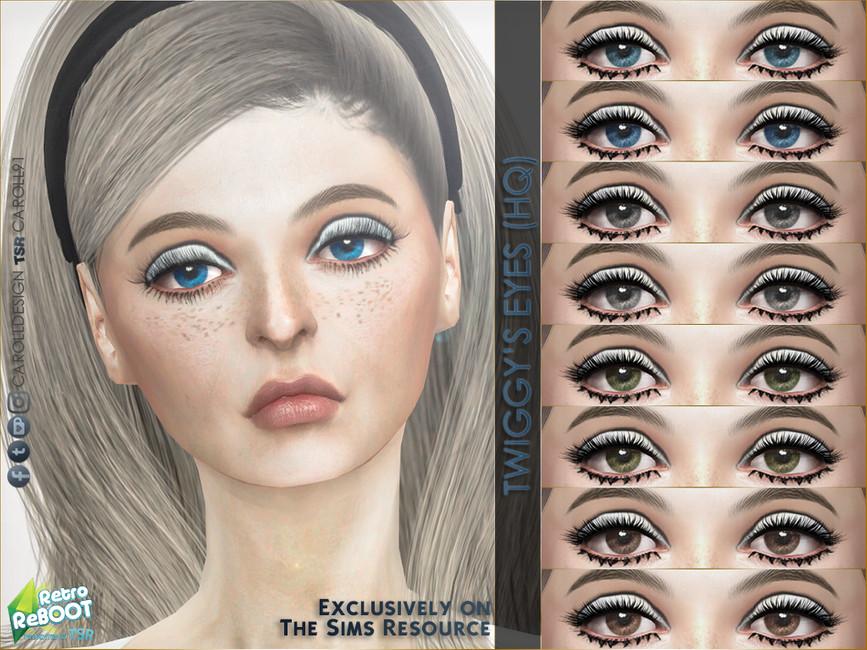 Глаза Twiggy's Eyes Симс 4