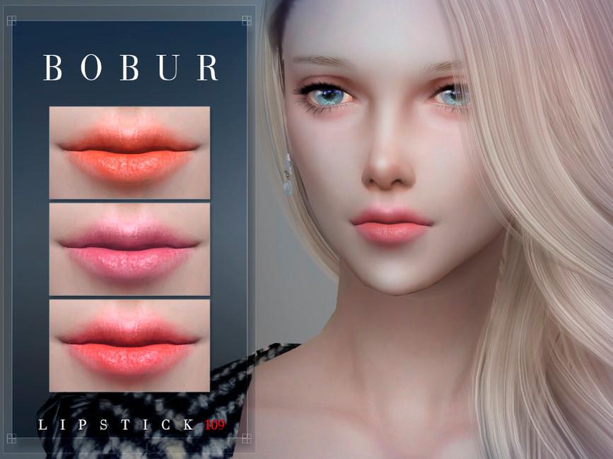 Губная помада Bobur Lipstick 109 Симс 4