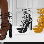 Мод туфли на каблуке Симс 4