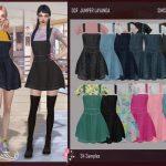 Моды комплекты одежды для Симс 4
