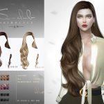 Моды кудрявые волосы Симс 4