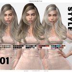 Моды на прически для женщин Симс 4