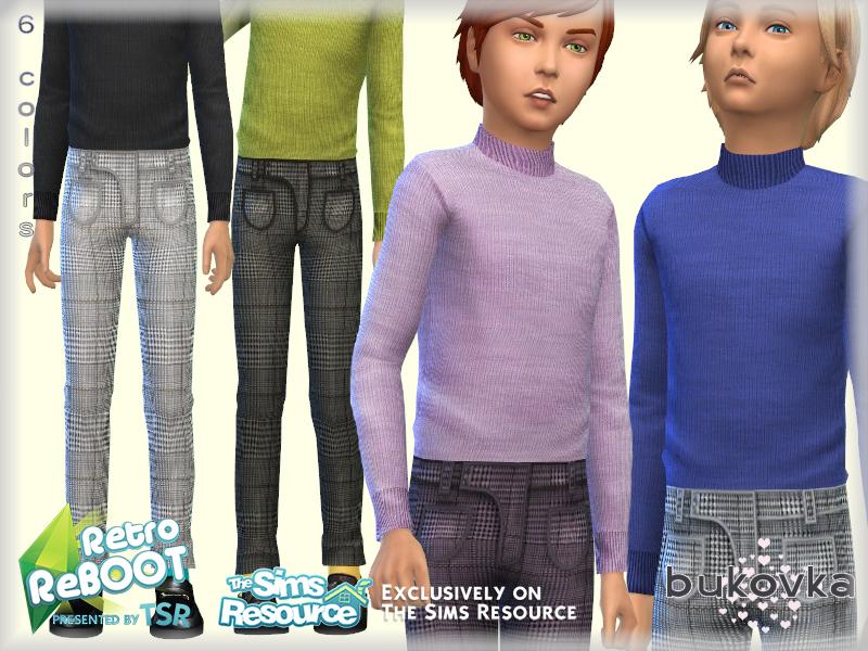 Моды одежда для мальчиков Симс 4