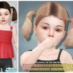 Моды прически для девочек Симс 4