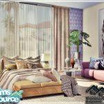 Моды спальня Симс 4