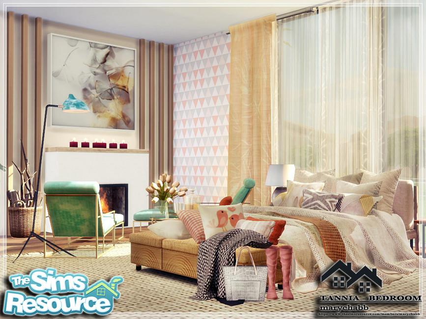 Моды спальня Симс 4 (картинка 2)