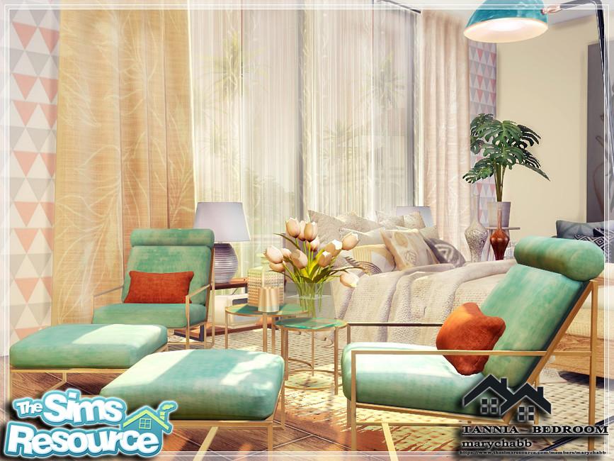 Моды спальня Симс 4 (картинка 4)
