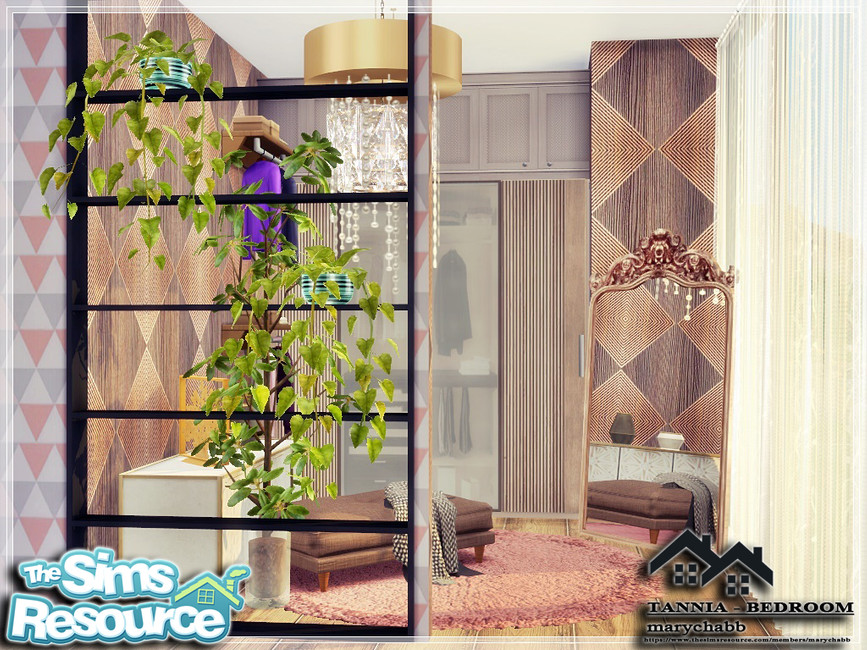 Моды спальня Симс 4 (картинка 6)