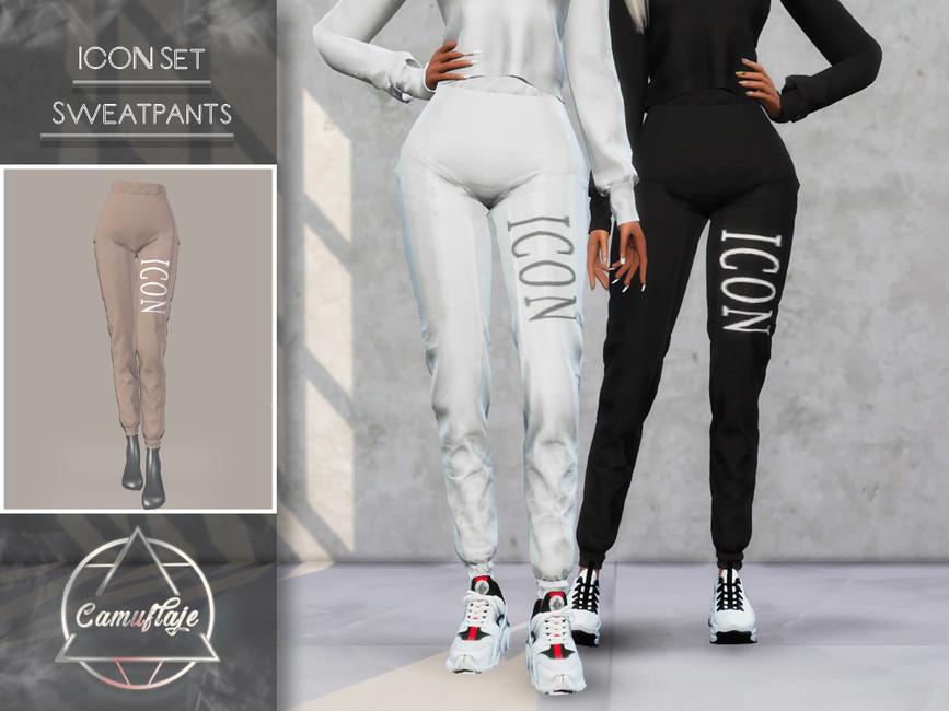 Моды спортивные штаны для Симс 4