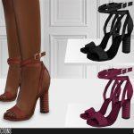 Моды туфли для Симс 4