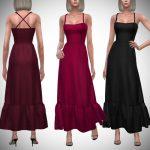 Моды вечернее платье для Симс 4