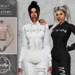 Моды женские толстовки Симс 4