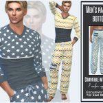 Мужская пижама для Симс 4