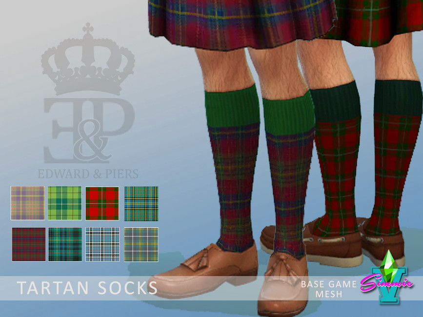 Мужские носки Симс 4