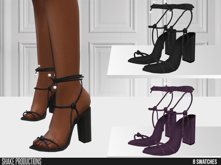 Обувь 644 - High Heels Симс 4