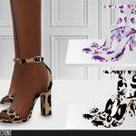 Обувь 646 - High Heels Симс 4