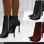 Обувь 659 - High Heel Boots Симс 4