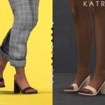 Обувь KATRINA | heels Симс 4