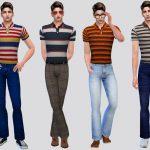 Одежда для парней Симс 4