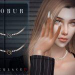 Ожерелье Bobur Necklace 27 Симс 4