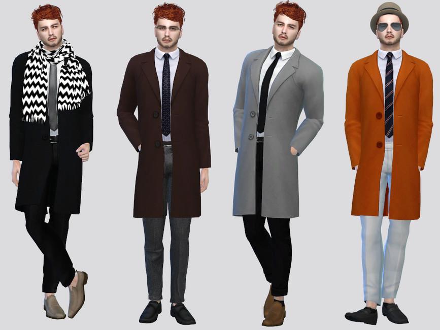 Пальто для мужчин Симс 4 (картинка 2)