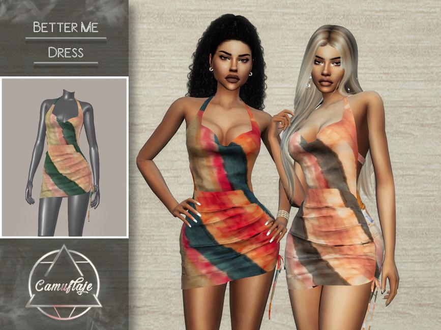 Платье Better Me (Dress) Симс 4
