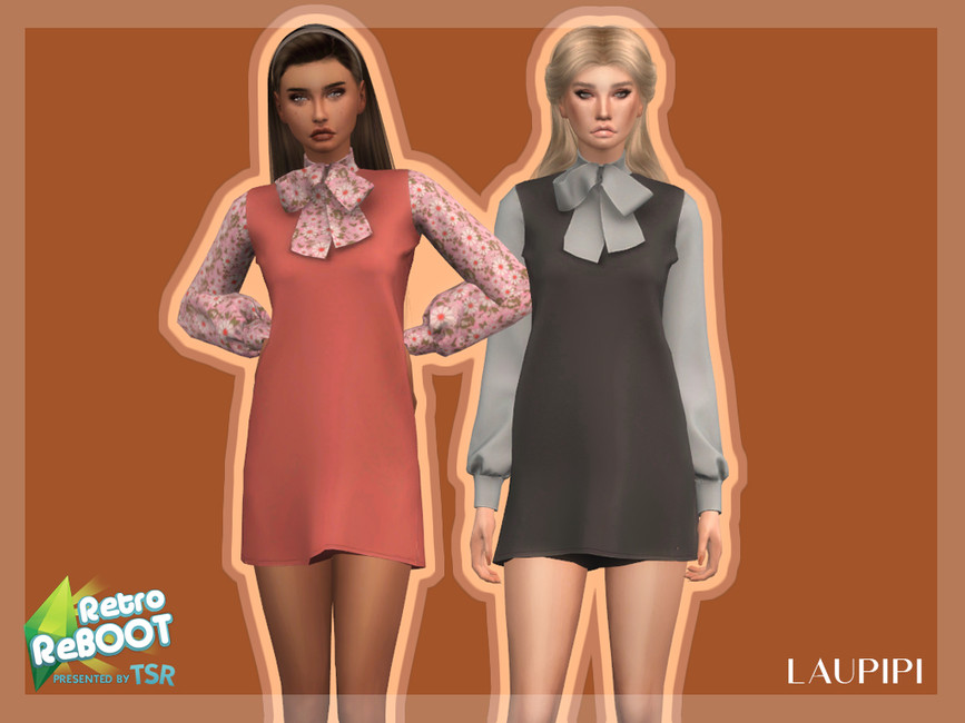 Платье Dress - R3 Симс 4