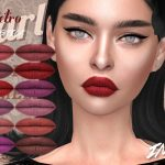 Помада IMF Retro Lipstick N330 Симс 4