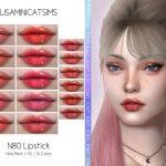 Помада LMCS Lipstick N80 (HQ) Симс 4
