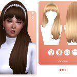 Прическа Rinna Hairstyle (Patreon EA) Симс 4