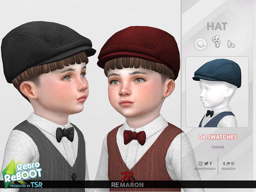 Шляпа для детей для Симс 4