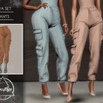 Штаны Aya Set (Pants) Симс 4