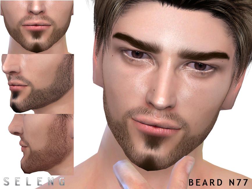 Скачать мод борода на Симс 4