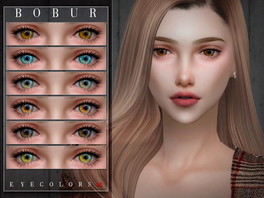Скачать мод цвет глаз Симс 4 (картинка 2)