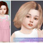 Скачать моды детские прически для Симс 4