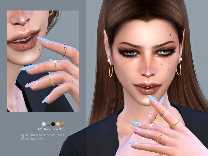 Скачать моды ногти для Симс 4