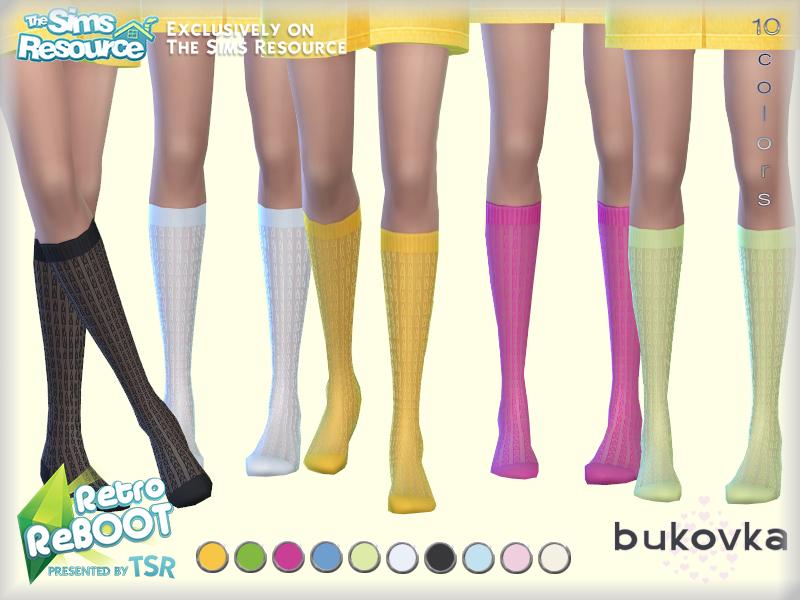 Скачать моды носки для Симс 4